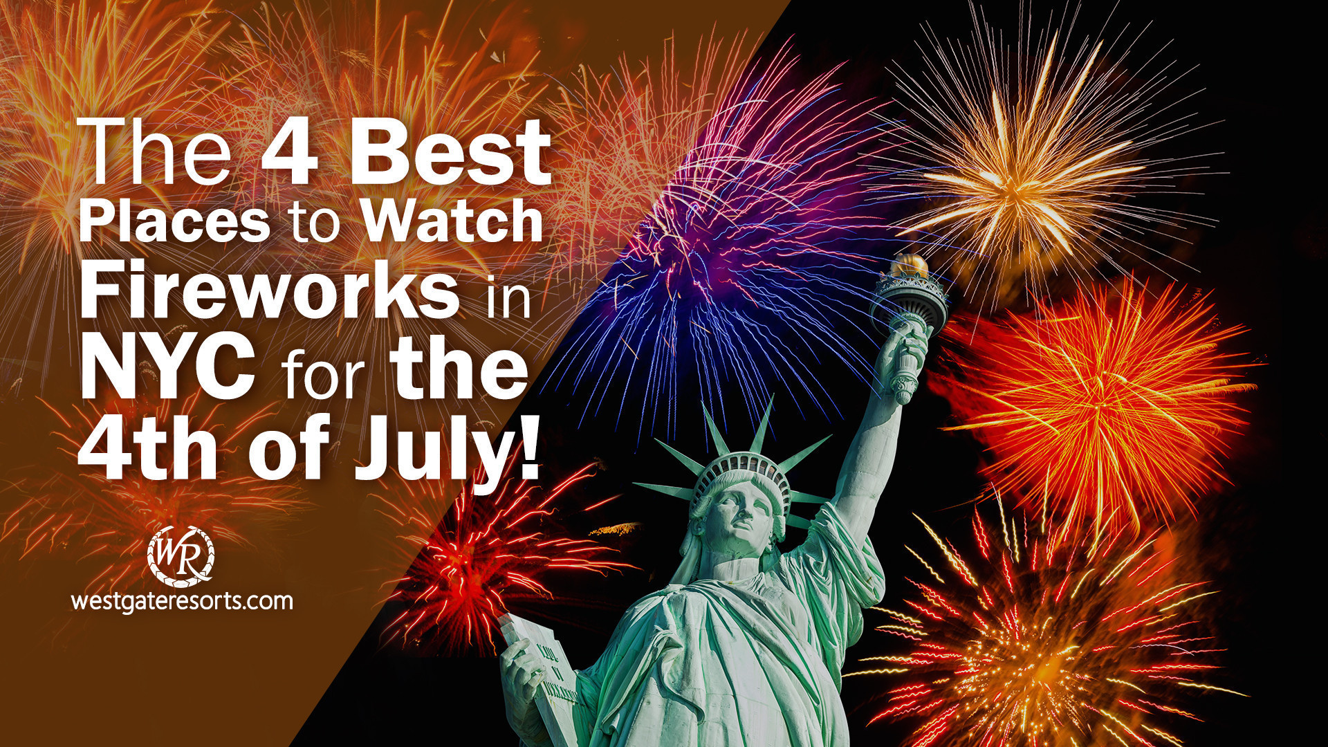 The 4 Best Places to Watch Fireworks in NYC for the 4th of July! | Fireworks NYC Schedules