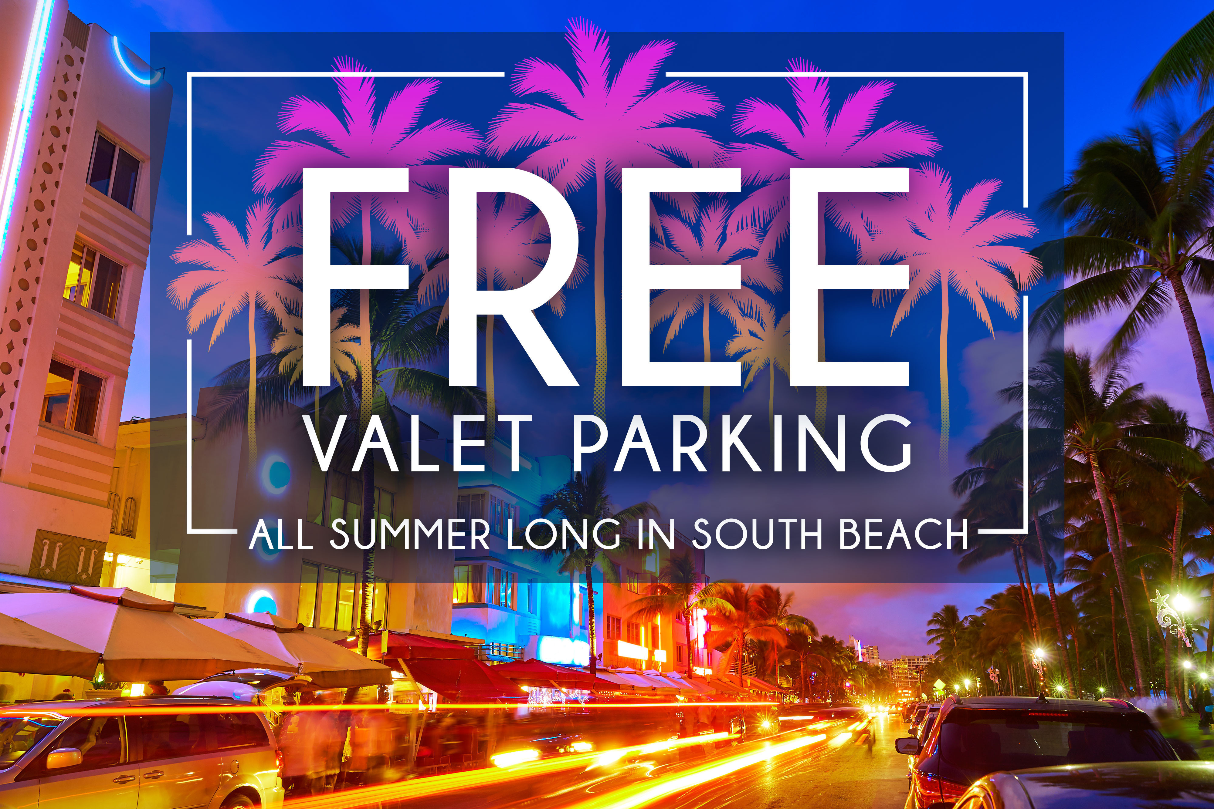 Escape to Westgate South Beach Oceanfront Resort for an incredible special rate featuring FREE valet parking ($42 daily value), a $10 daily dining voucher at Fresco Café, PLUS free use of two beach chairs and an umbrella ($15 daily value).