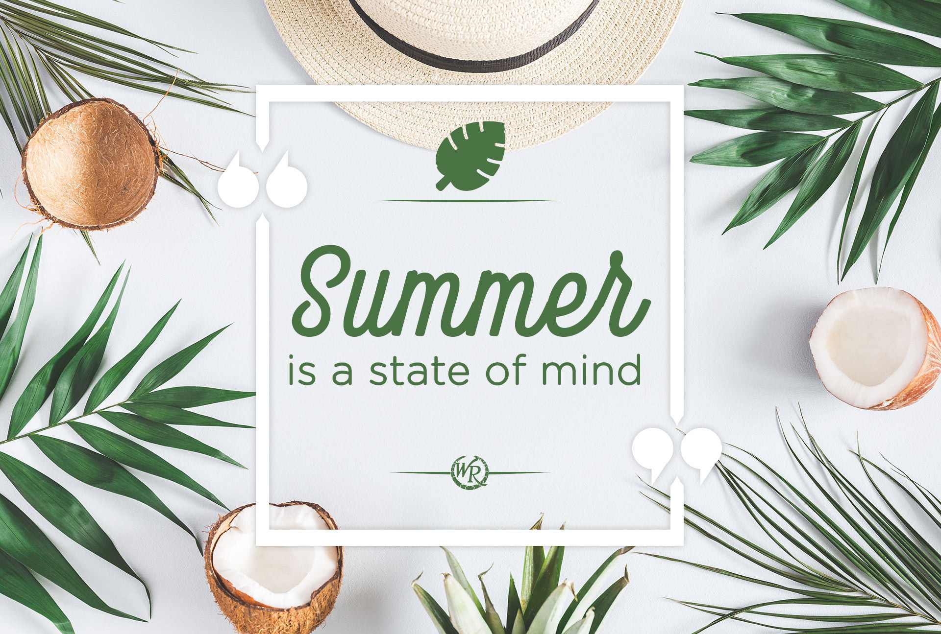 Summer Is A State Of Mind | Motivational Summer Travel Quotes