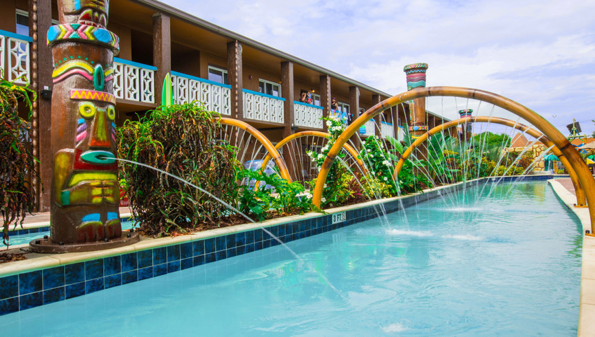 Splash into a good time after a fun-filled day of sun and sand at Westgate Cocoa Beach Resort's amazing Wakulla Falls Water Park