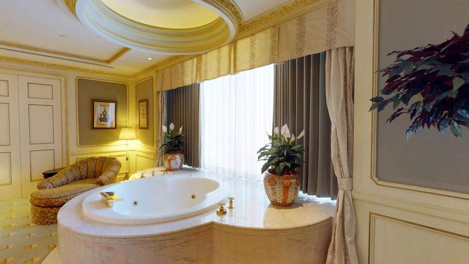 Bathroom in the Ambassador Villa in the Ambassador Villa  - Westgate Las Vegas Resort & Casino