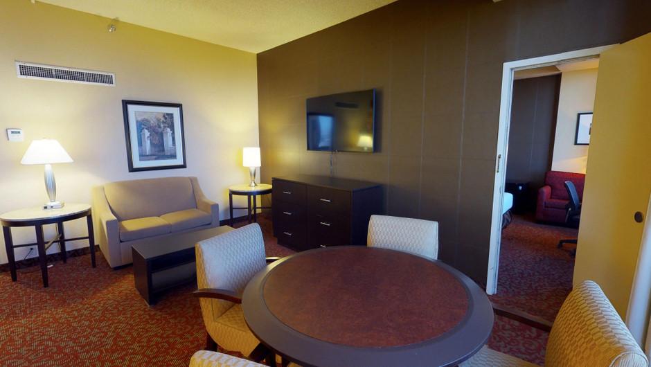 Sitting room in Central Tower Parlors - Westgate Las Vegas Resort & Casino.