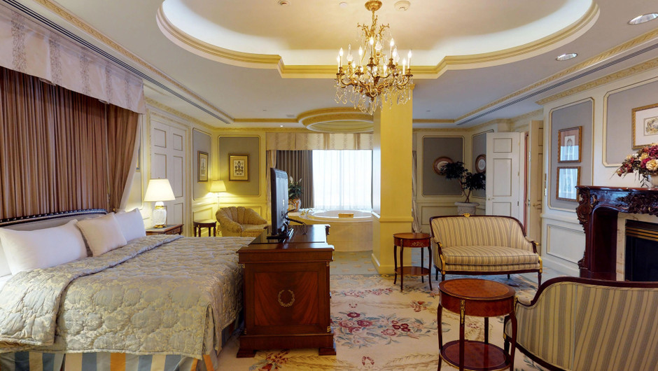 Bedroom in the Ambassador Villa - Westgate Las Vegas Resort & Casino