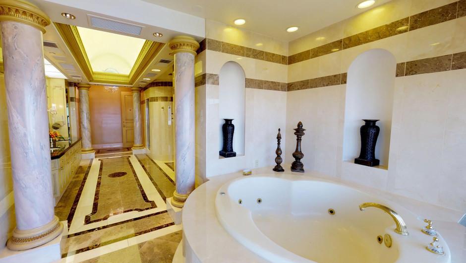 Bathroom in the European Villa - Westgate Las Vegas Resort & Casino