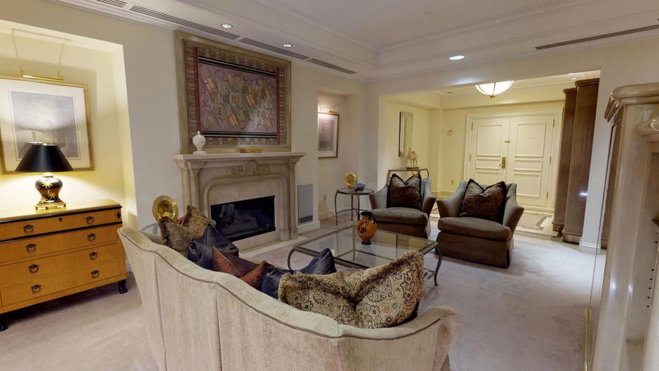 Monaco Studio Suite living room area | Westgate Las Vegas