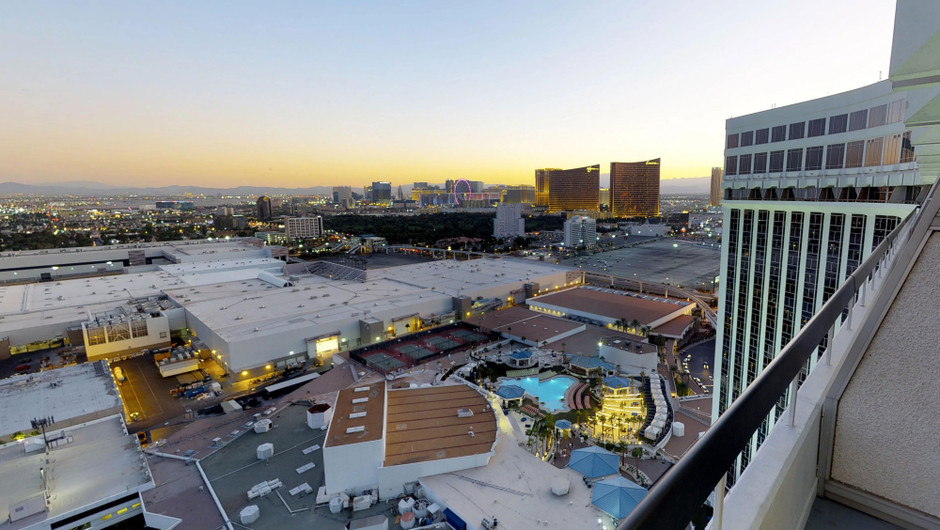 Outside view from suite - Westgate Las Vegas