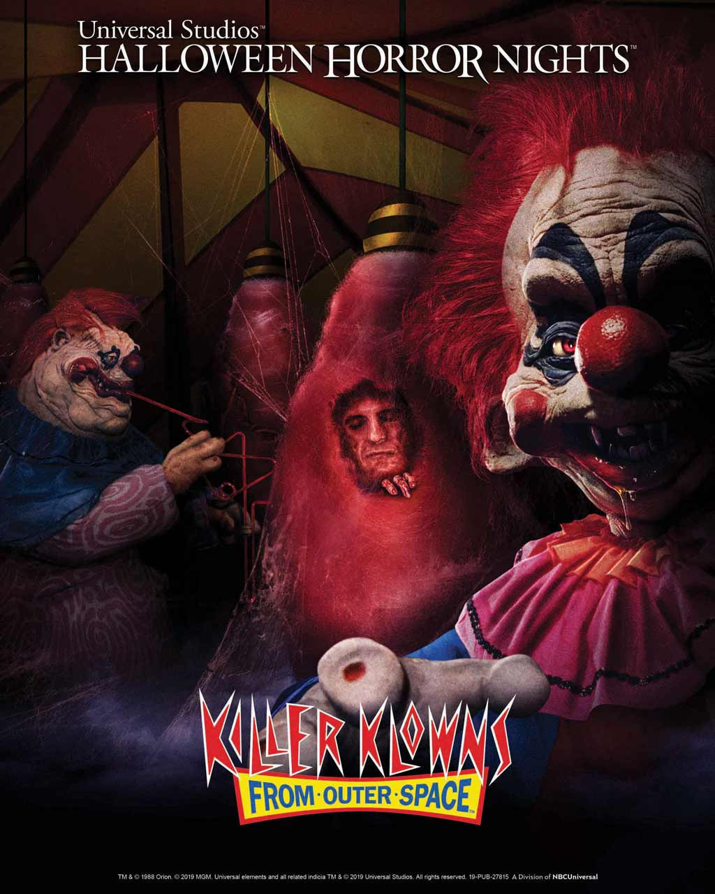 Haunted Houses at Halloween Horror Nights 2019 | HHN Houses | Killer Klowns from Outer Space