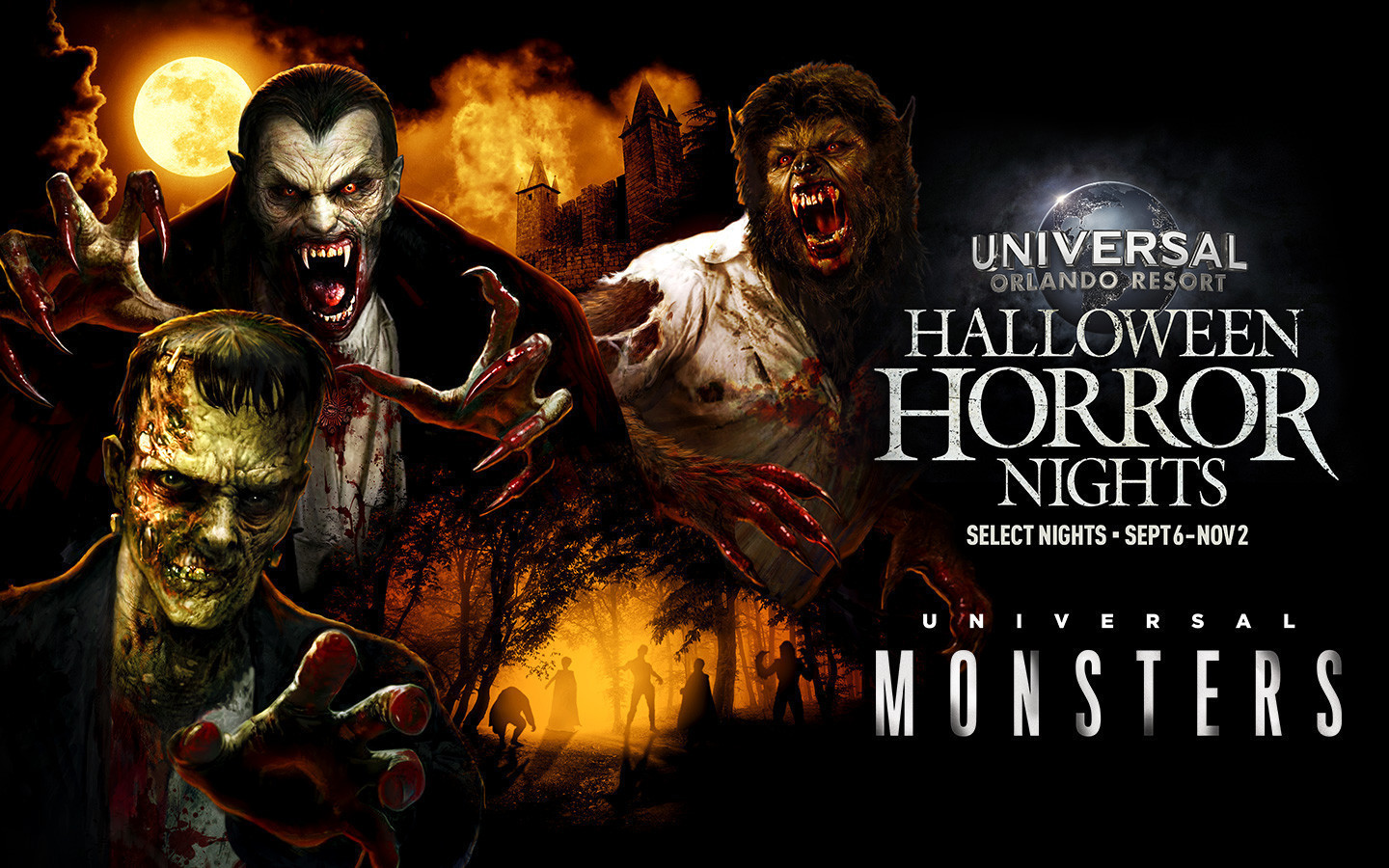 Haunted Houses at Halloween Horror Nights 2019 | HHN Houses | Universal Monsters Mazes