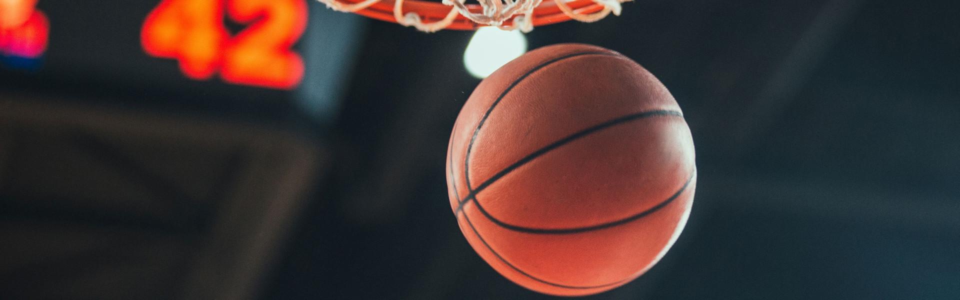Basketball Season Wins Challenge   Basketball and Hoop