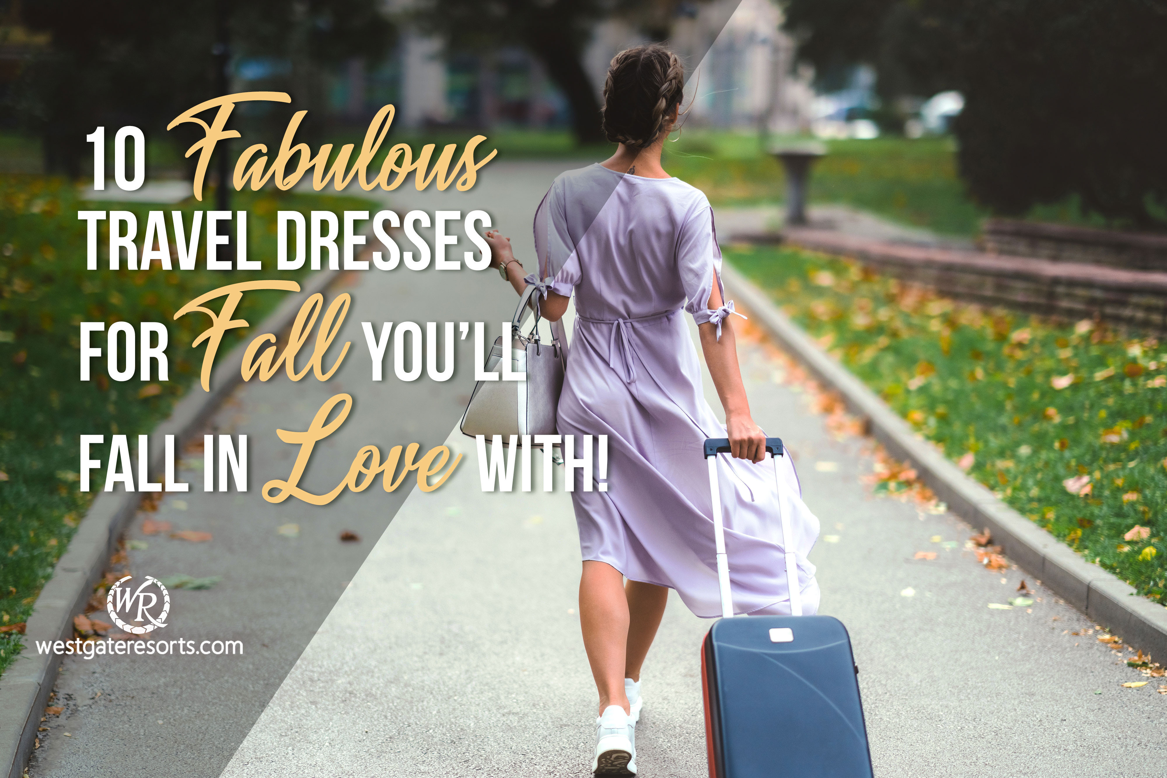 10 Fabulous Travel Dresses For Fall You'll Fall In Love With | Fall Travel Dresses
