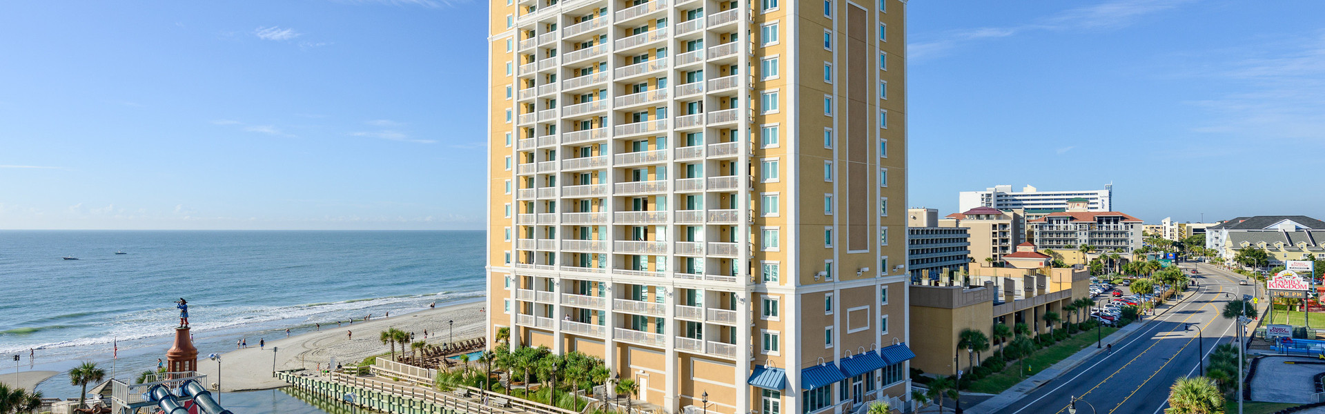 4 Days 3 Nights $99 Myrtle Beach Family Vacation Packages | Sunset Over Ocean