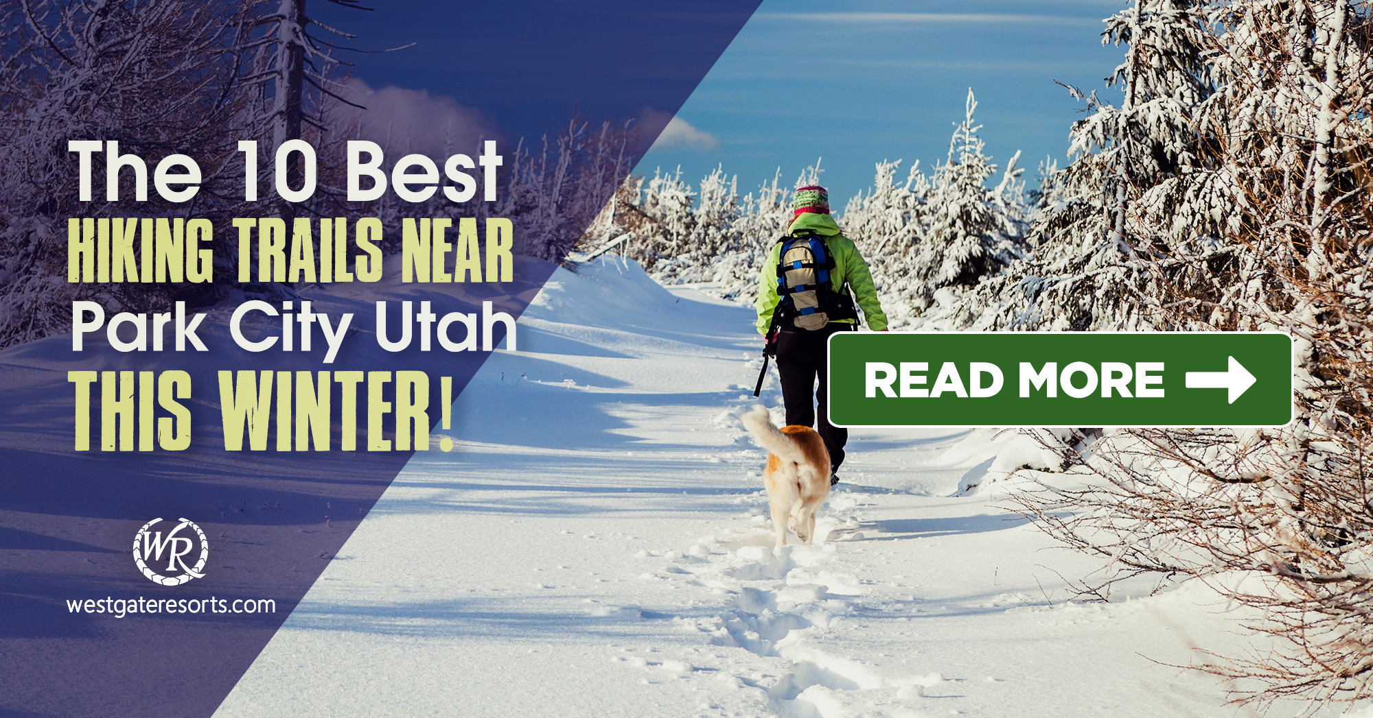 The 10 Best Hiking Trails Near Park City Utah This Winter | Park City Trail Series
