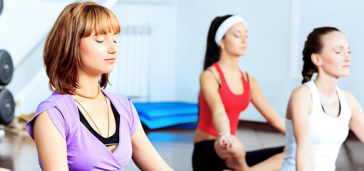 Women in yoga class - Westgate Las Vegas