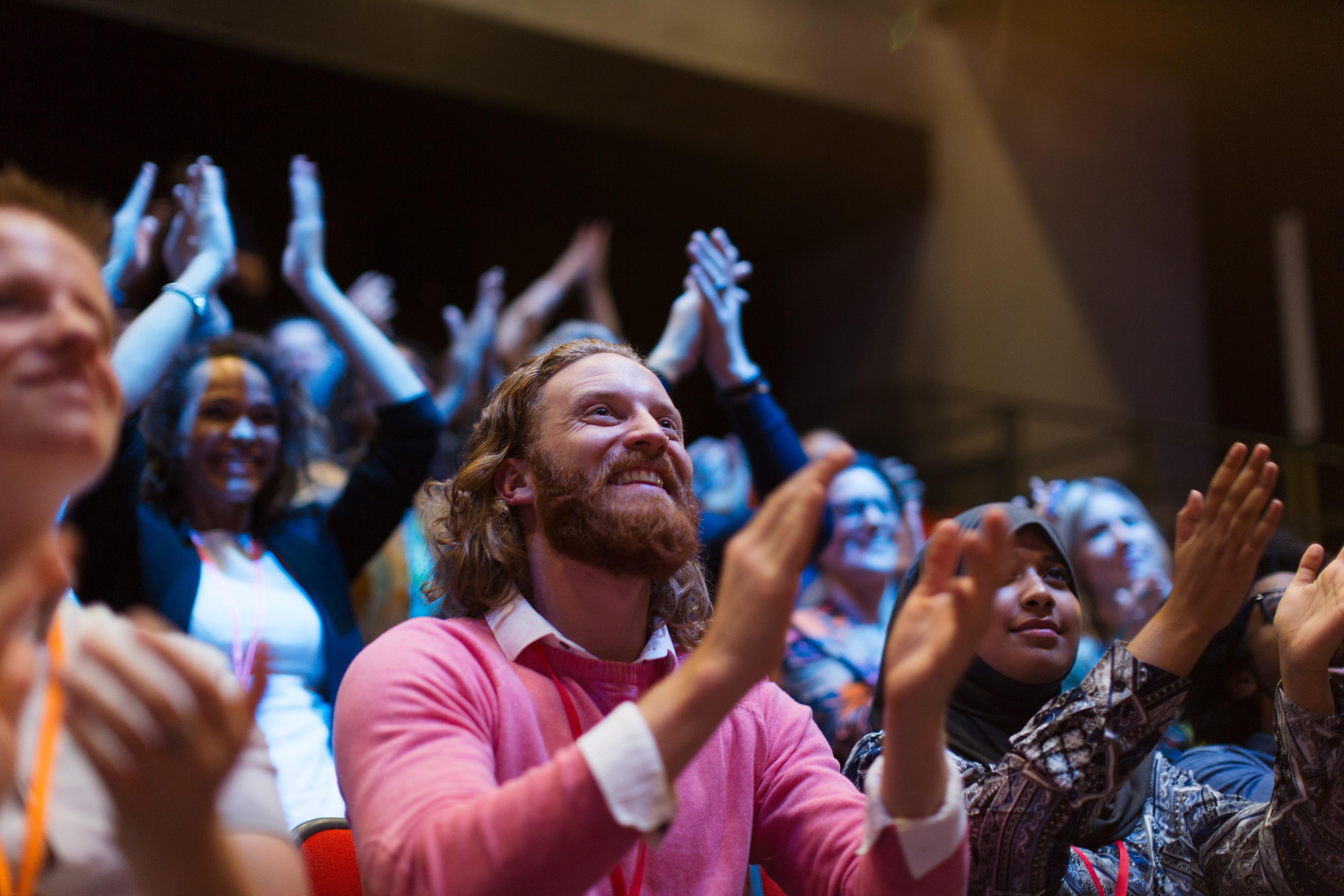 People clapping - Westgate Las Vegas