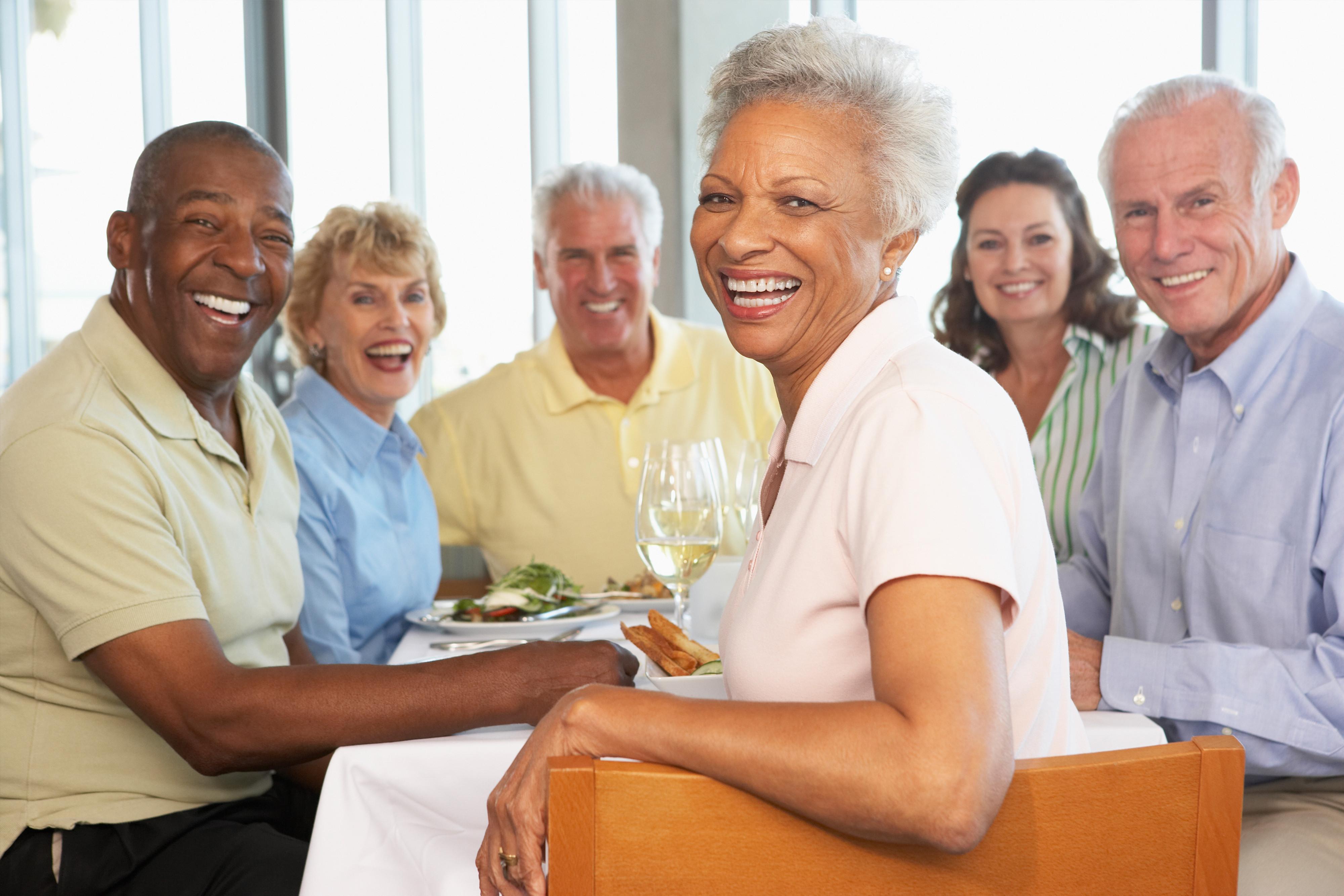 NYC Senior Meetup Group Rates | Group of seniors