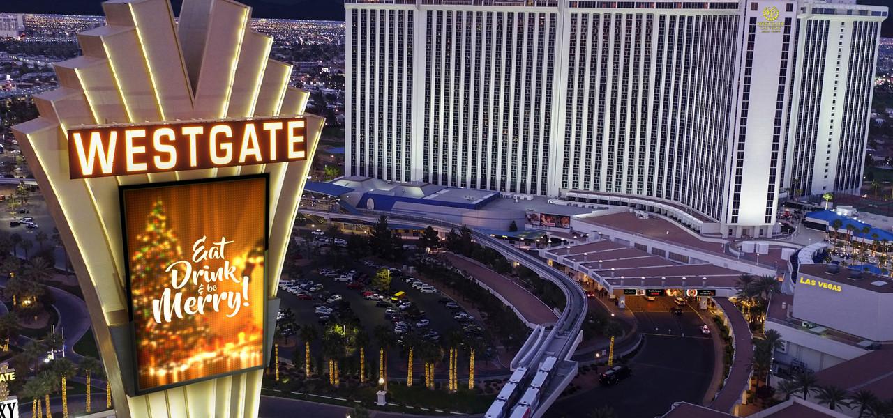 Westgate Las Vegas Pylon
