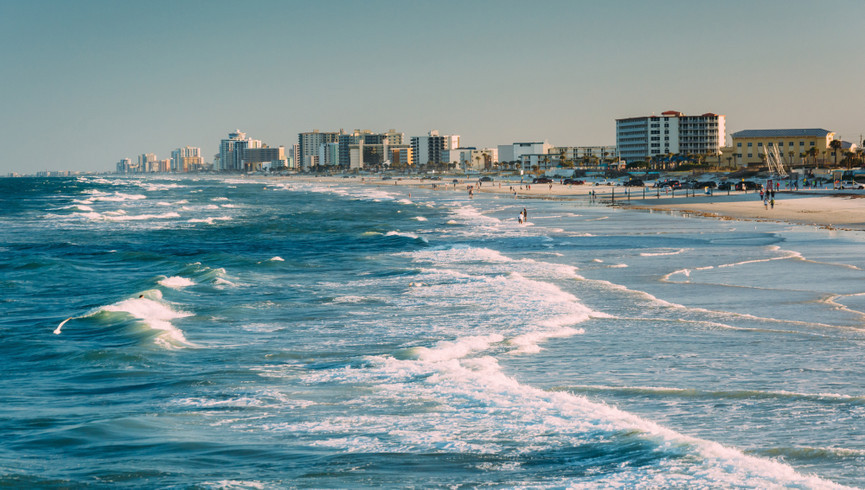 Beach view from one of our Daytona Beach resorts | Harbour Beach Resort | Westgate Resorts