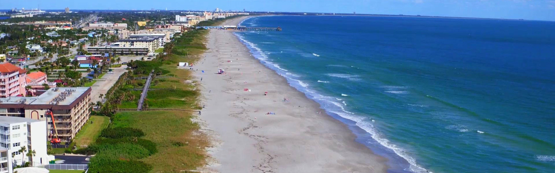 Boy And Girl Scout Hotel Rates In Cocoa Beach - Ariel shot of Cocoa Beach
