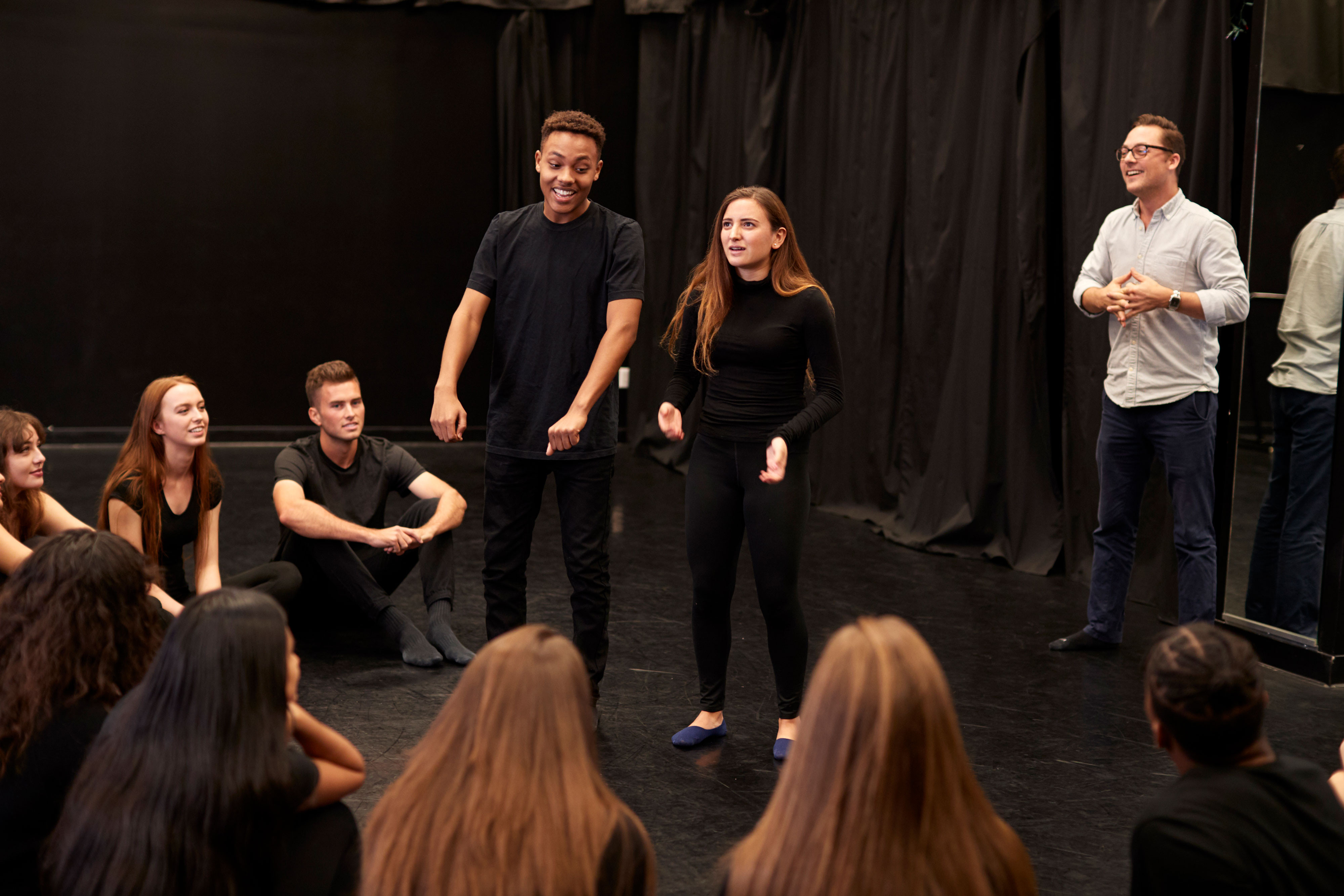 Take The Drama Out Of Branson Theater Trips - Theater Group performing