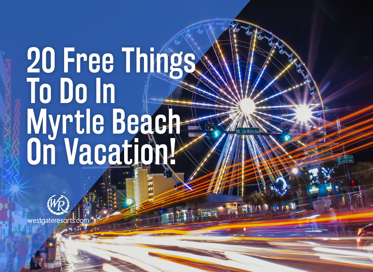 Things To Do In Myrtle Beach Halloween 2020 20 Free Things To Do In Myrtle Beach On Vacation   Things To Do In