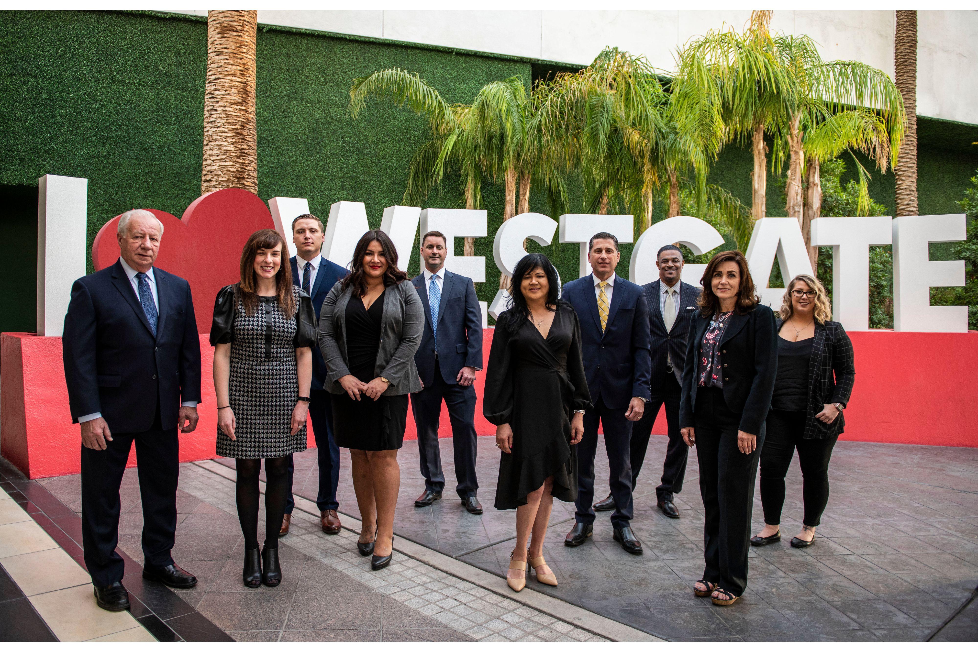 Meet your Westgate Las Vegas Casino Hosts | Group of Casino Hosts