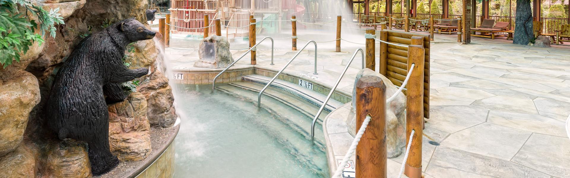 Indoor Gatlinburg Waterpark near the Smoky Mountains | Wild Bear Falls