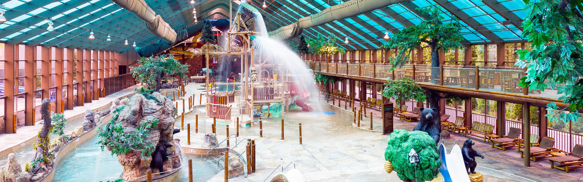 The Best Indoor Water Park in Tennessee | Wild Bear Falls