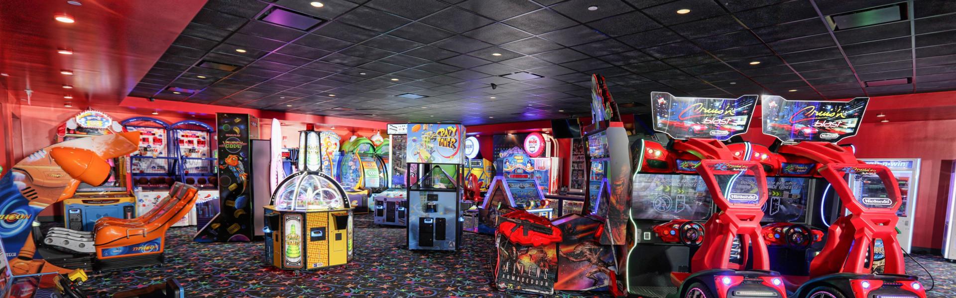 Child having fun at our game room in Orlando Florida   Orlando Resort Game Rooms   Westgate Lakes Resort & Spa