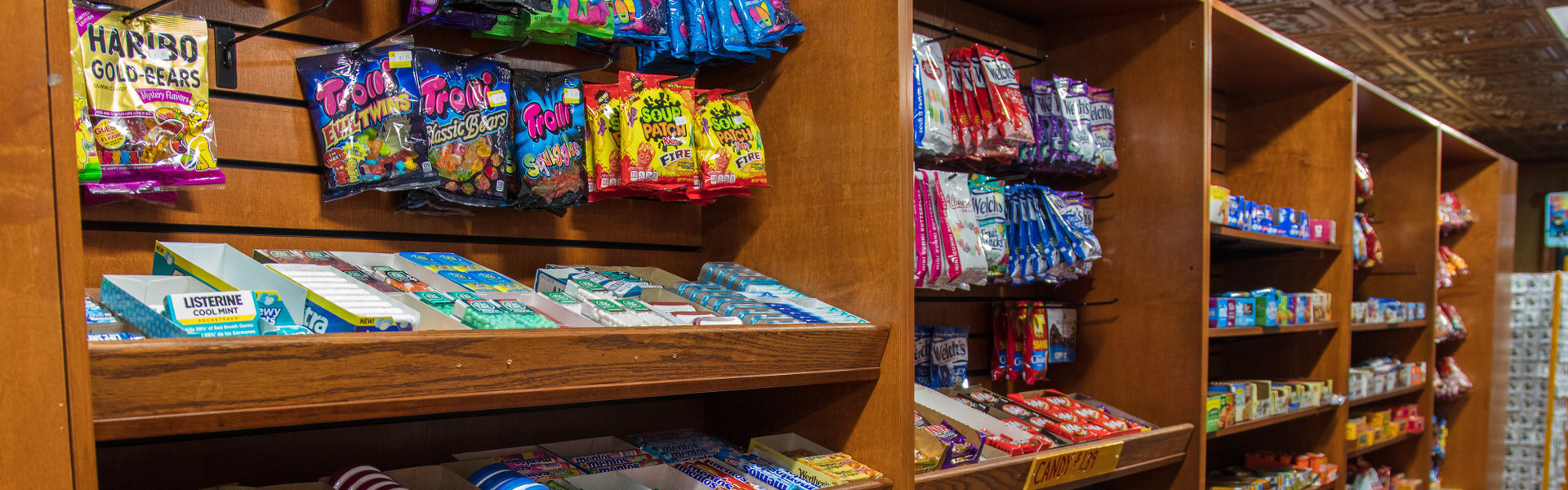 Marketplace at Our Gatlinburg Resort near the Smoky Mountains | Grocery Shelves