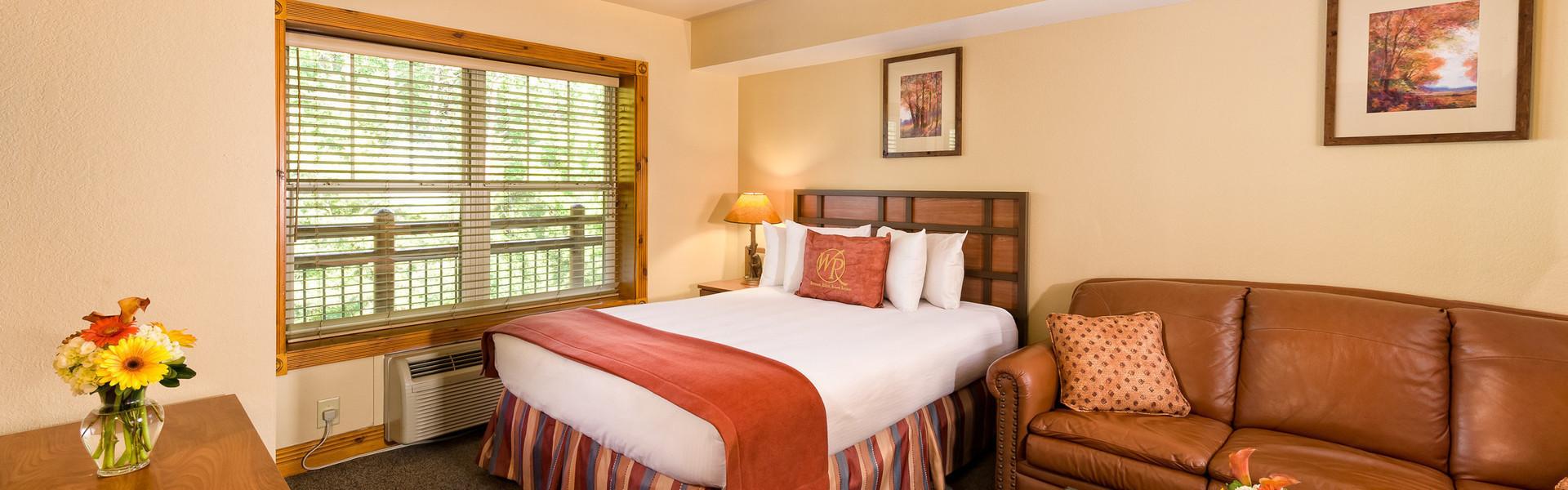 Studio Villas at Our Gatlinburg Resort near the Smoky Mountains | Spacious Living