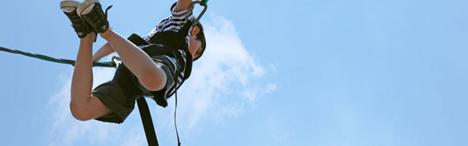 Florida Bungee Jumping near Orlando | Kid Bungee Jumping at Ranch