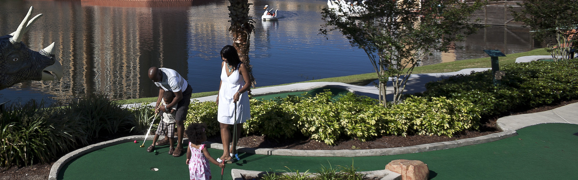 Mini golf in Orlando Florida at our resort | Westgate Lakes Resort & Spa