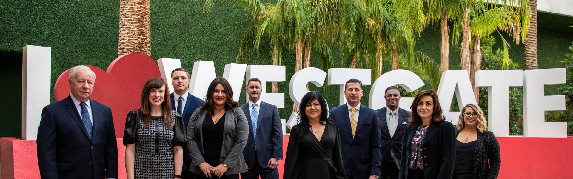 Meet your Westgate Las Vegas Casino Hosts   Group of Casino Hosts
