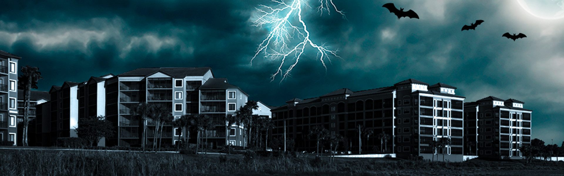 Hotel For Mickey's Not-So-Scary Halloween Party -Spooky image of Westgate Lakes Resort & Spa