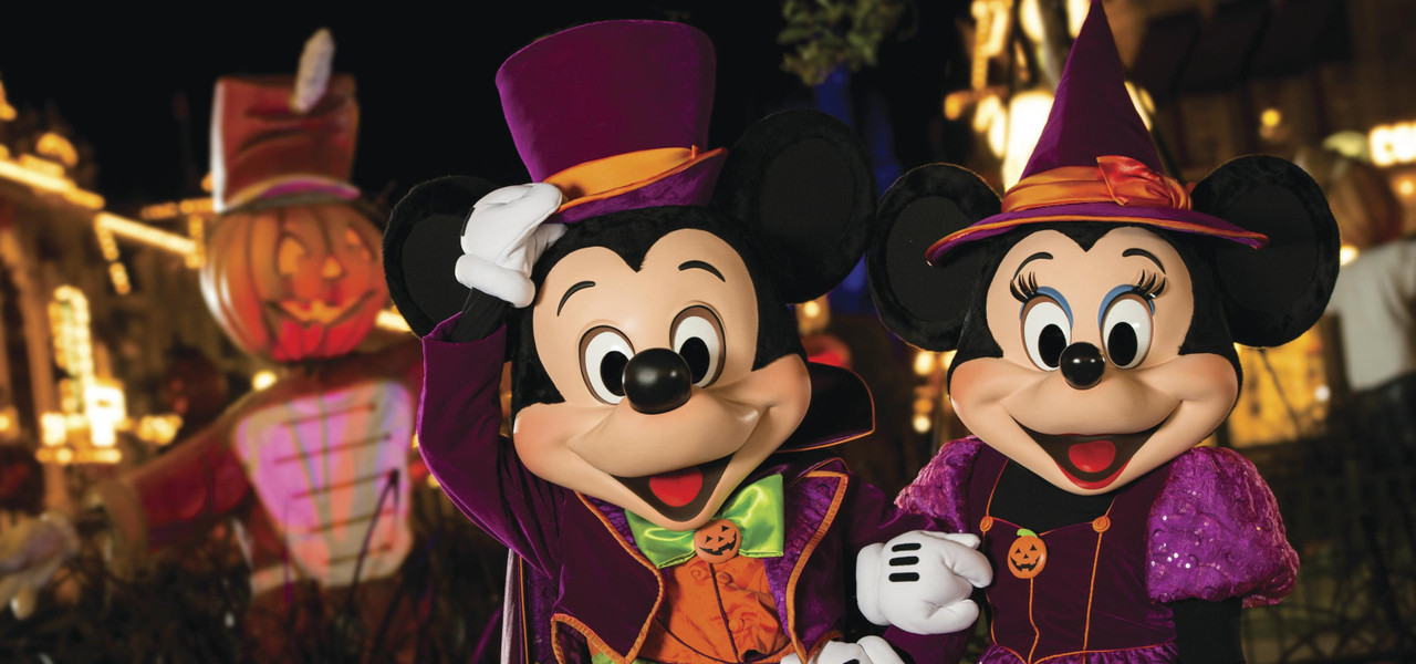 Hotel For Mickey's Not-So-Scary Halloween Party -Mickey and Minnie