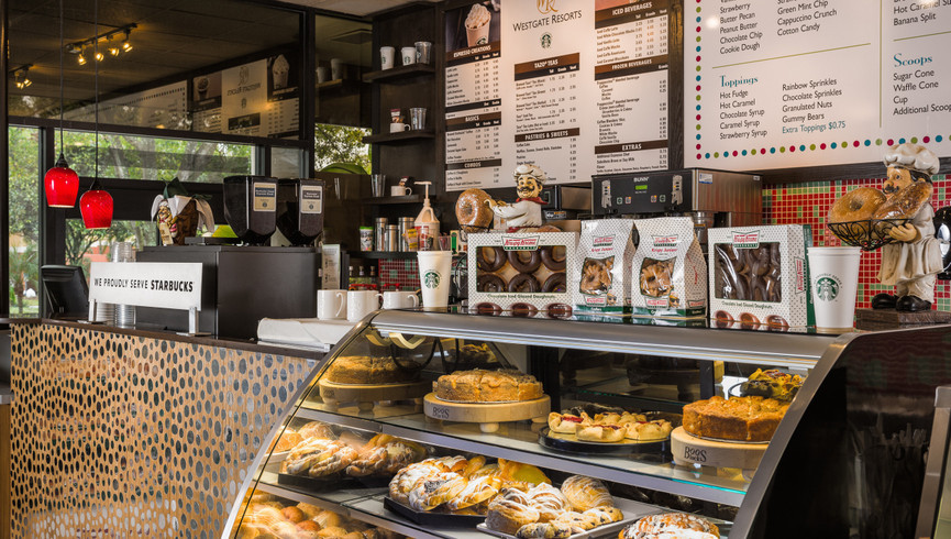 Sid's Coffee Bistro at the Kissimmee Resort Hotel   Westgate Town Center Resort & Spa   Westgate Resorts