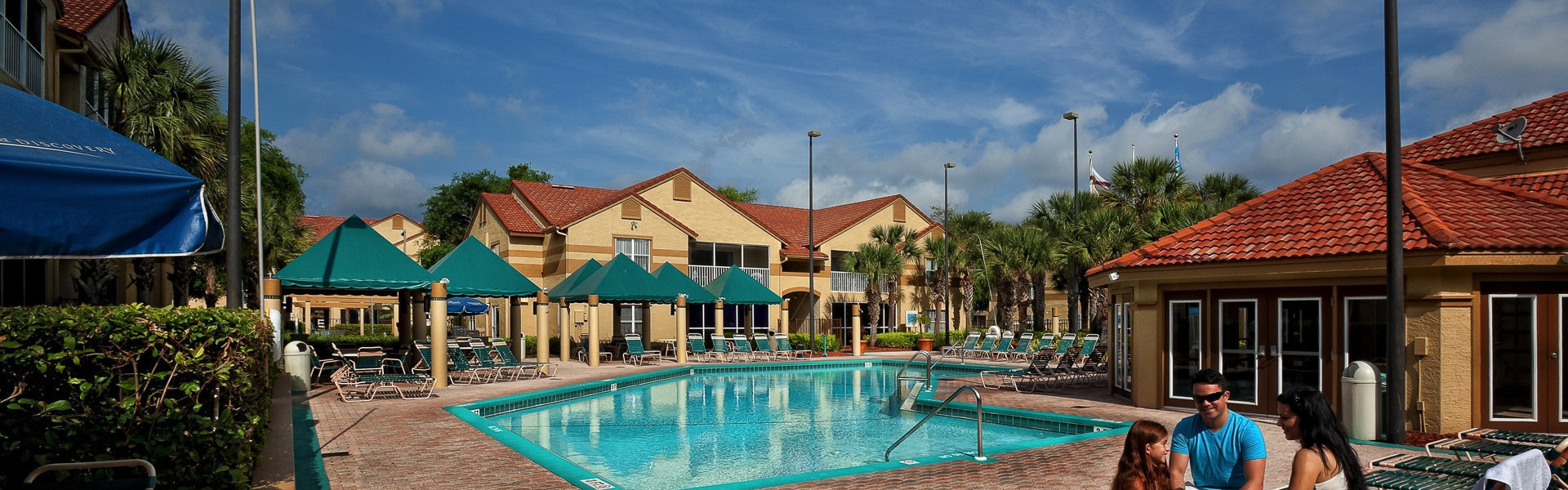 Overview of Lake Buena Vista resort near Orlando's theme parks | Heated Outdoor Pool