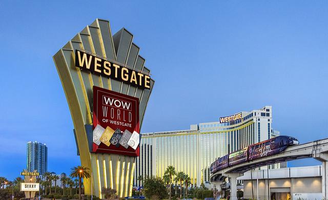Exterior view of Westgate Las Vegas Resort