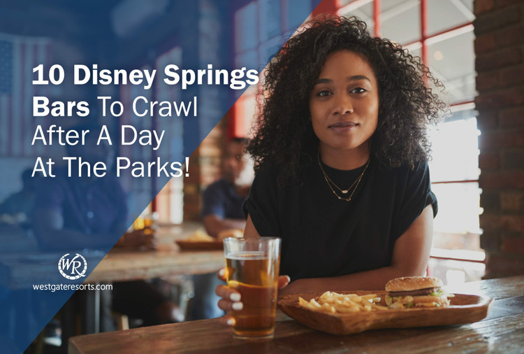 10 Disney Springs Bars To Crawl After A Day At The Parks!