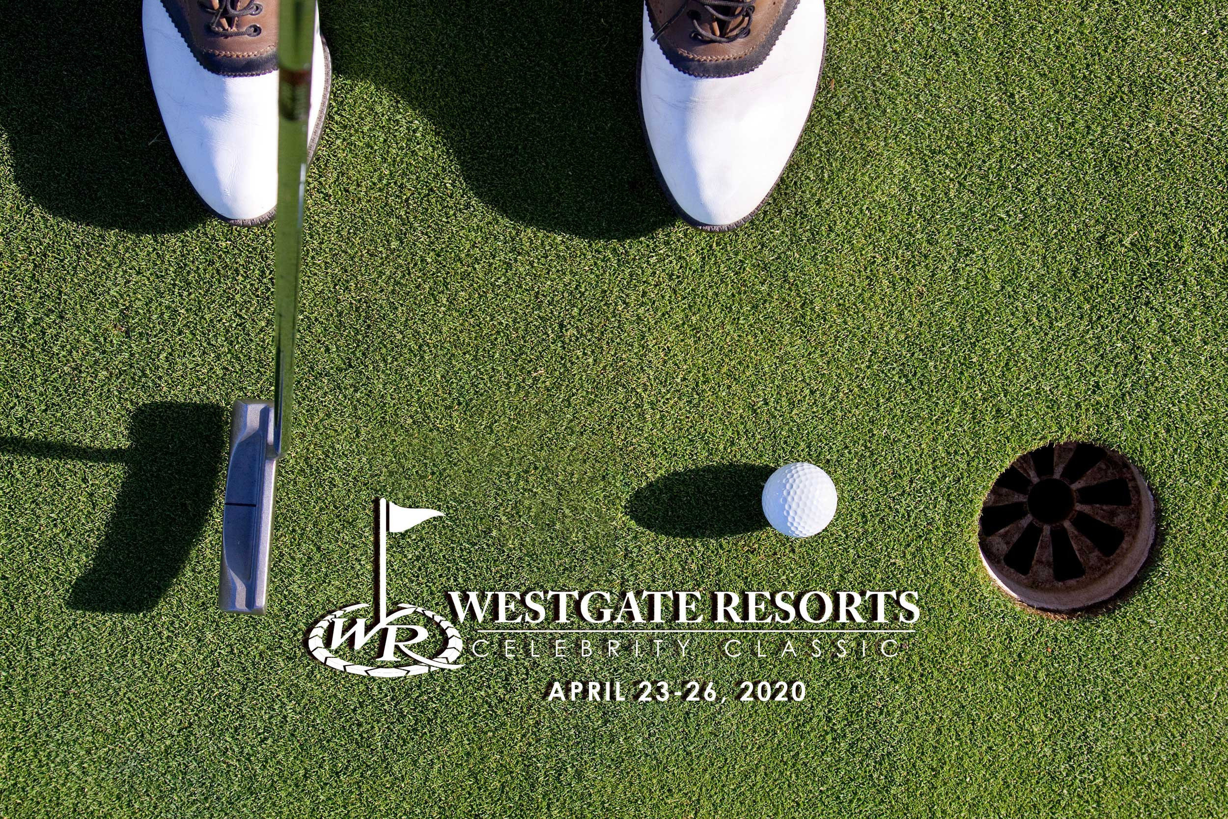Golf putting Hole in One | Westgate Resorts Celebrity Golf Classic Tournament