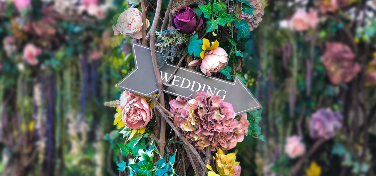 Kissimmee Hotel Wedding Packages - Wedding Sign