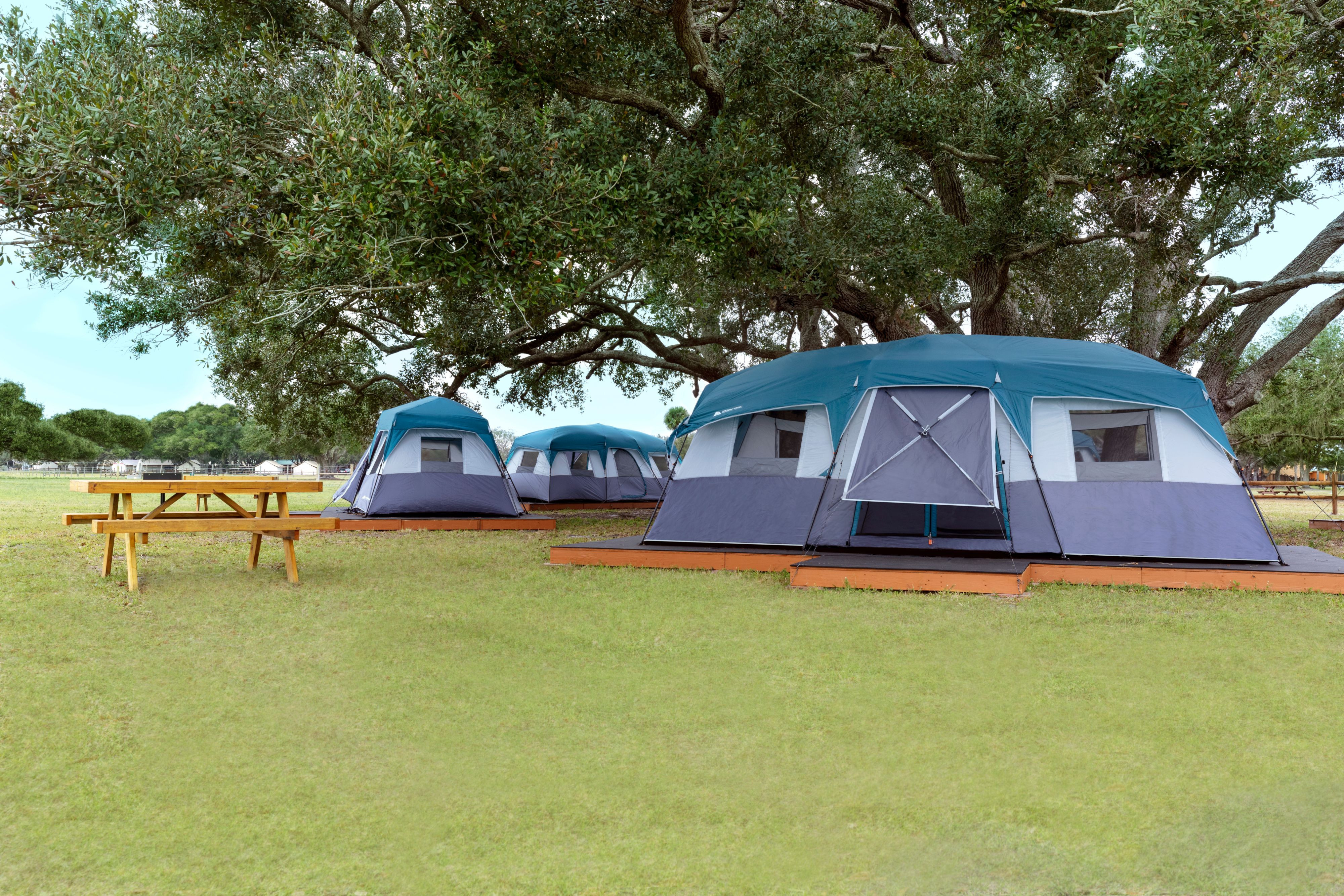 Camping tent - Westgate River Ranch