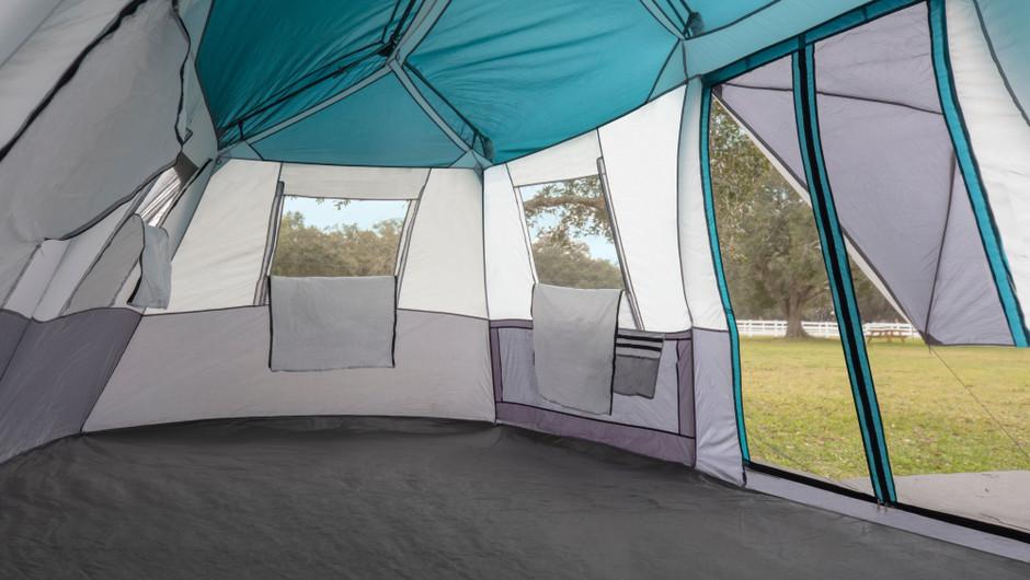 Inside Platform Tent - Westgate River Ranch Resort & Rodeo