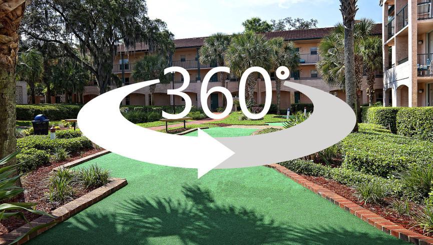 Virtual tour at our Lake Buena Vista Florida Resorts | Westgate Blue Tree Resort Lake Buena Vista | Resorts Near Sea World, Orlando, FL 32836
