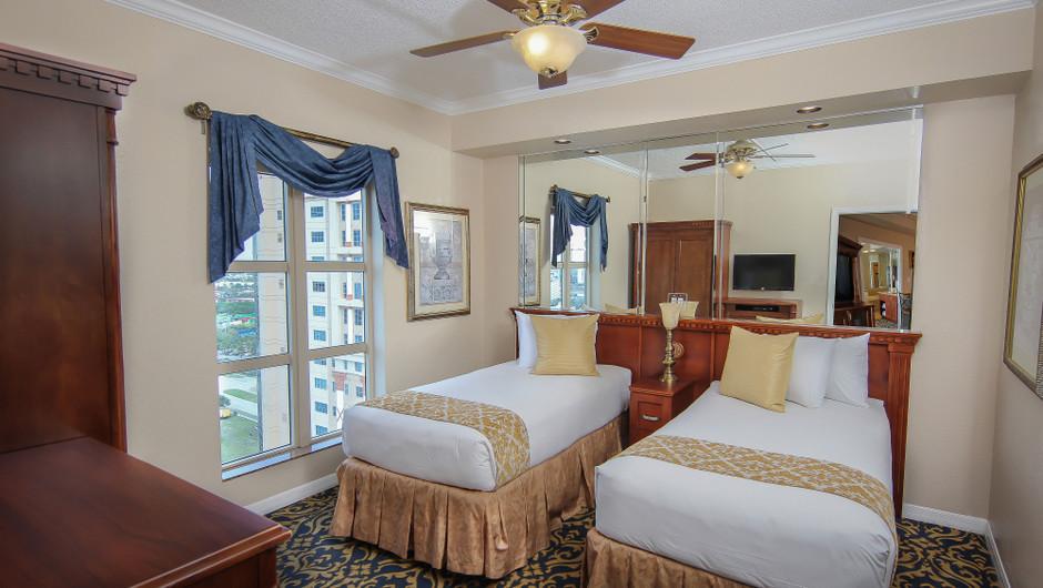 two-bedroom deluxe villa | westgate palace resort in orlando florida | westgate resort