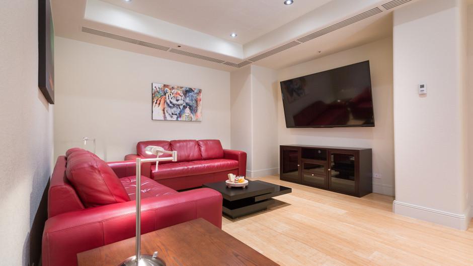 Living Area in the Desert Suite - Westgate Las Vegas Resort & Casino