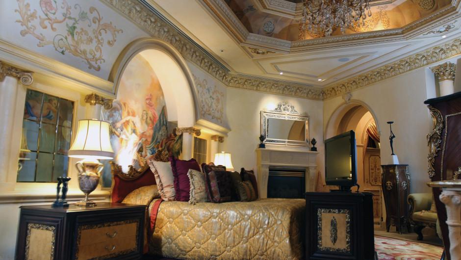 Bedroom in the Verona Sky Suite - Westgate Las Vegas Resort & Casino