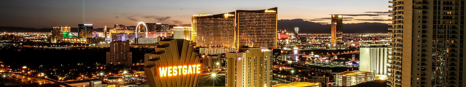 Win Loss Statement Requests for our Las Vegas Hotel and Casino | Westgate Las Vegas at Night