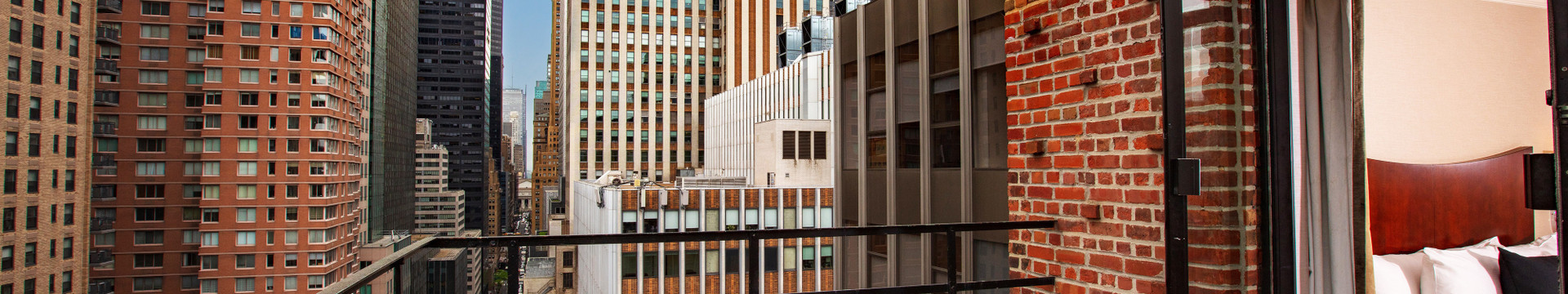 A View from our Midtown Manhattan Hotel Suites | Westgate New York Grand Central Hotel | New York City Hotel Suites for Families