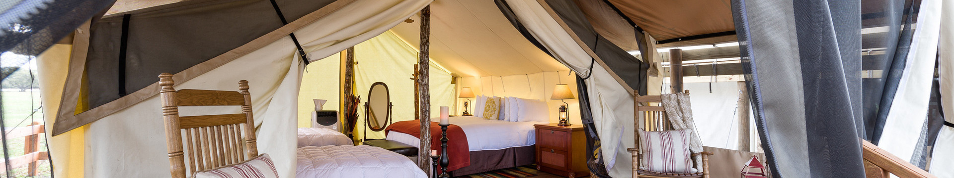 Glamping Florida near Orlando | Inside our Luxe Teepee